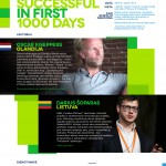 "Nori sužinoti kaip ""To be more successful in first 1000 days""?"